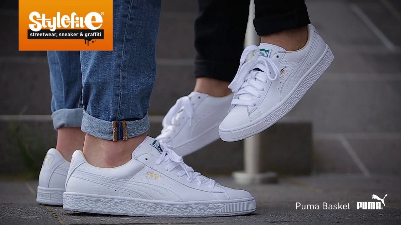 Puma Basket On Feet