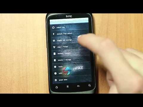 Установка новой прошивки на HTC Desire S