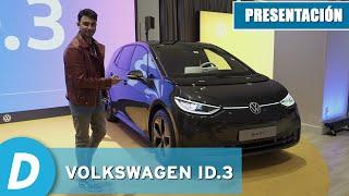 Volkswagen ID.3, el nuevo eléctrico de Volkswagen | Primeras impresiones | Diariomotor