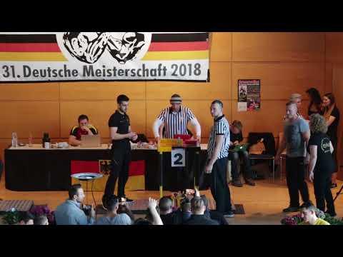 Deutsche Meisterschaft 2018 //Finale  Newcomer -80kg / +80kg - Links