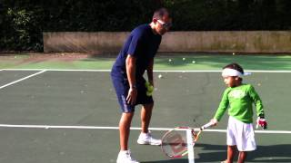 Teach Your Kids Tennis- Video Tennis Tip- The Forehand.