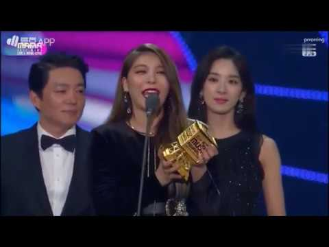the winner Best OST @ 2017 MAMA  Ailee 에일리  I Will Go To You Like The First Snow  1080HD