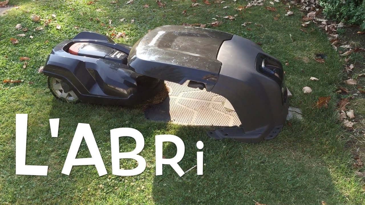 Automower 330x abri 08 youtube - Robot tondeuse husqvarna 310 ...