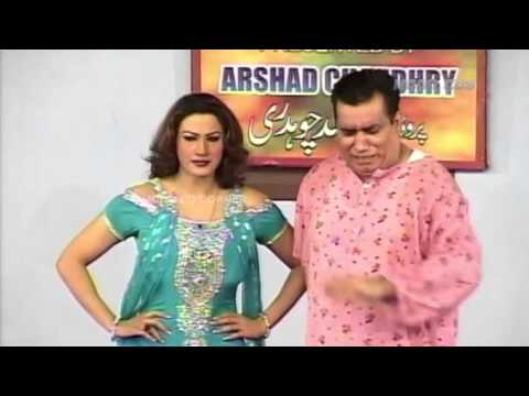 Thumbnail: Best of Saima Khan and Nasir Chinyuti Stage Drama Full Comedy Clip