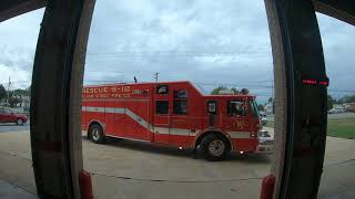 Engine 54-1 Acting Engine 502 *Ride Along* (Screaming Q and Horn!) - 2 Calls for The 50 House