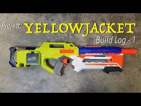 Yellowjacket: Build Log - 1