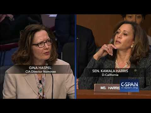Exchange between Sen. Harris and CIA Director Nominee on torture (C-SPAN)