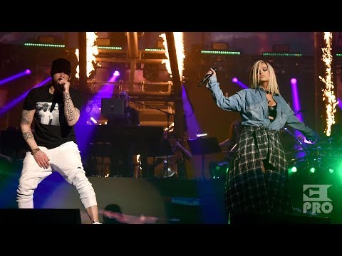 Eminem Ft. Bebe Rexha - The Monster (Multicam)