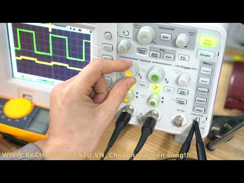 Kiểm tra nhanh và hiệu chỉnh máy hiện sóng cơ bản cho thợ điện tử mới| Tìm hiểu nâng cao nghề(Bài 1)