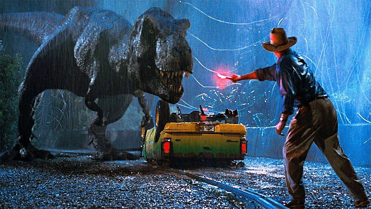 T-Rex Attack Scene - Jurassic Park (1993) Movie Clip HD