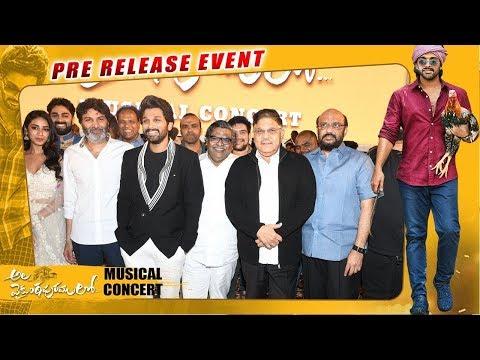 ala-vaikunthapurramuloo-musical-concert---allu-arjun,-pooja-hegde-|-trivikram-|-thaman-s
