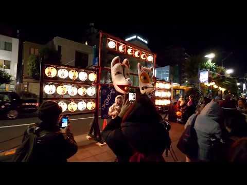 New Year Fox Parade at Oji Inari-jinja!