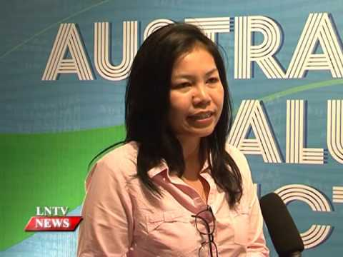 Lao NEWS on LNTV: Over 300 Australian alumni build up their network.21/3/2016