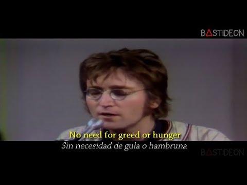 John Lennon - Imagine (Sub Español + Lyrics)