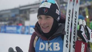 #OBE17: Anais Bescond, 5th in Pursuit