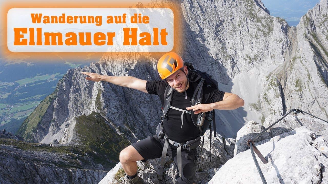 Klettersteig Wilder Kaiser Ellmauer Halt : Wanderung auf die ellmauer halt m im wilden kaiser youtube
