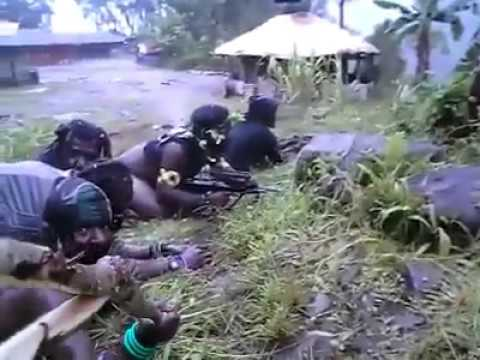 VIDEO KONTAK TEMBAK TNI VS OPM /  PAPUA MERDEKA