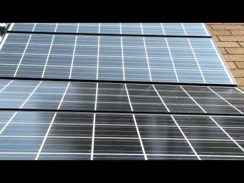 Solar And Wind Power In Virginia  Updated  I now have 4 Kyocera Solar Panels