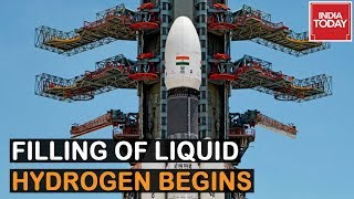 Chandrayaan 2 Launch Live Updates: Liquid Hydrogen Is Being Filled Into The Cryogenic Stage