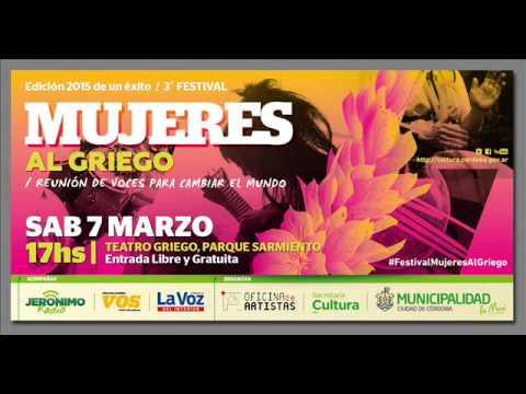 #MujeresAlGriego2015 - Presentación Jerónimo Radio