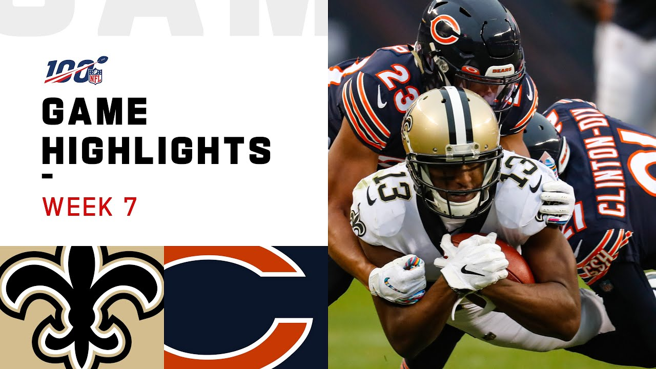 Bears vs. Saints: Final score and highlights