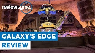 Flop or Fantastic? Star Wars Galaxy's Edge Overview and Review | ReviewTyme