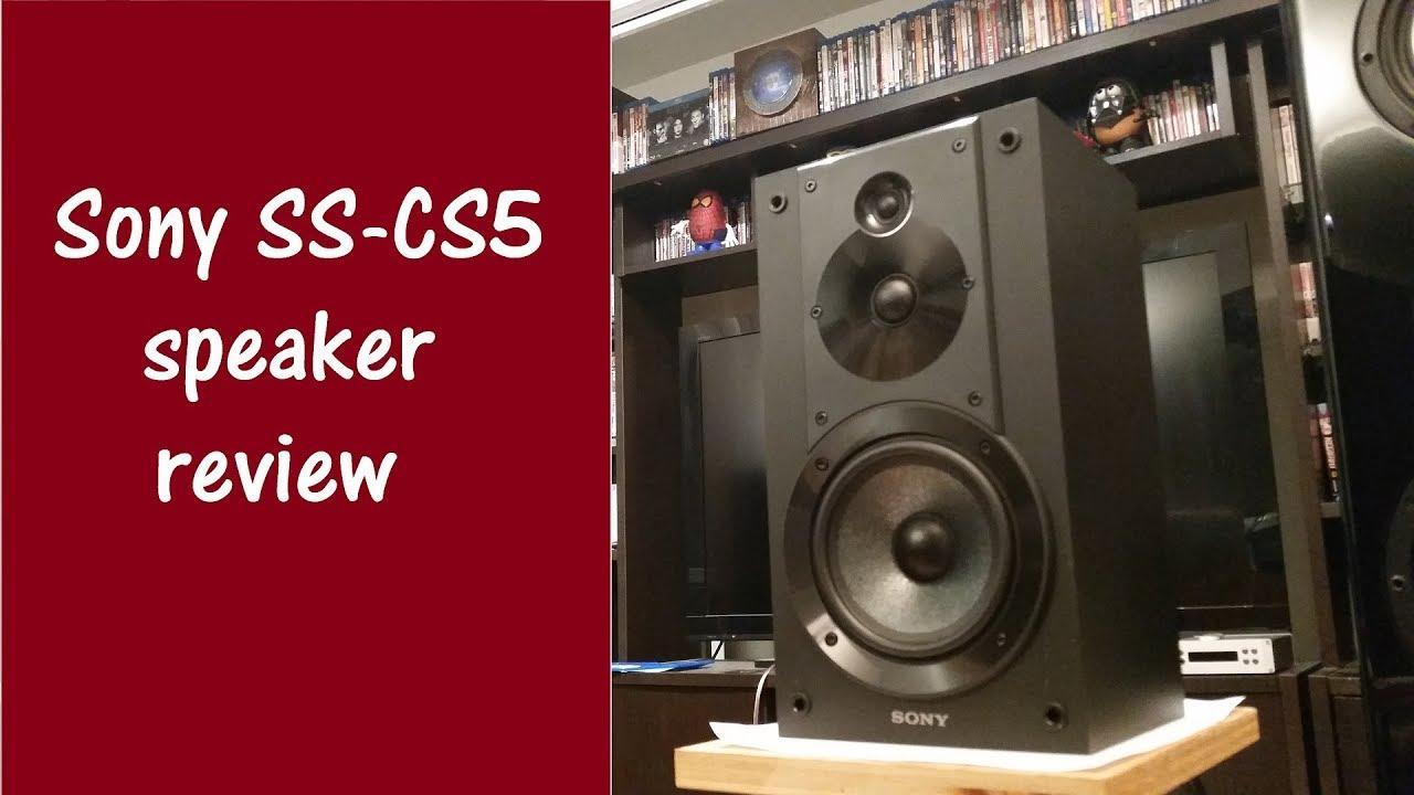 Stereo – Sony SS-CS5 speaker review / Cheapest audiophile speaker vs polk  audio RtiA9