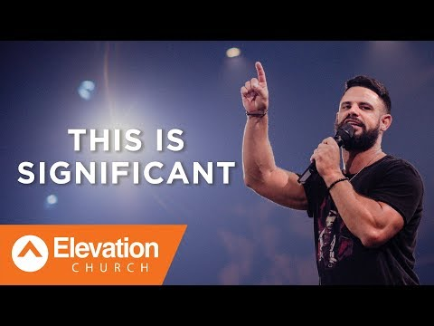 It's often hard to see the significance in your season | Savage Jesus | Pastor Steven Furtick