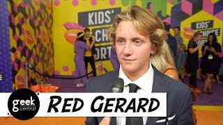 INTERVIEW: Snowboarder Red Gerard at Nickelodeon Kids' Choice Sports