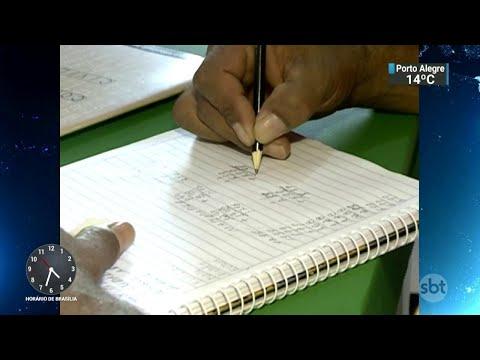 Pesquisa do IBGE aponta que Brasil tem mais de 11 milhões de analfabetos | SBT Notícias (23/07/18)