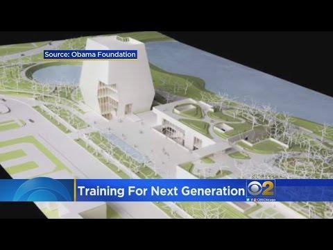 Former President Barack Obama Unveils Plans For Presidential Center
