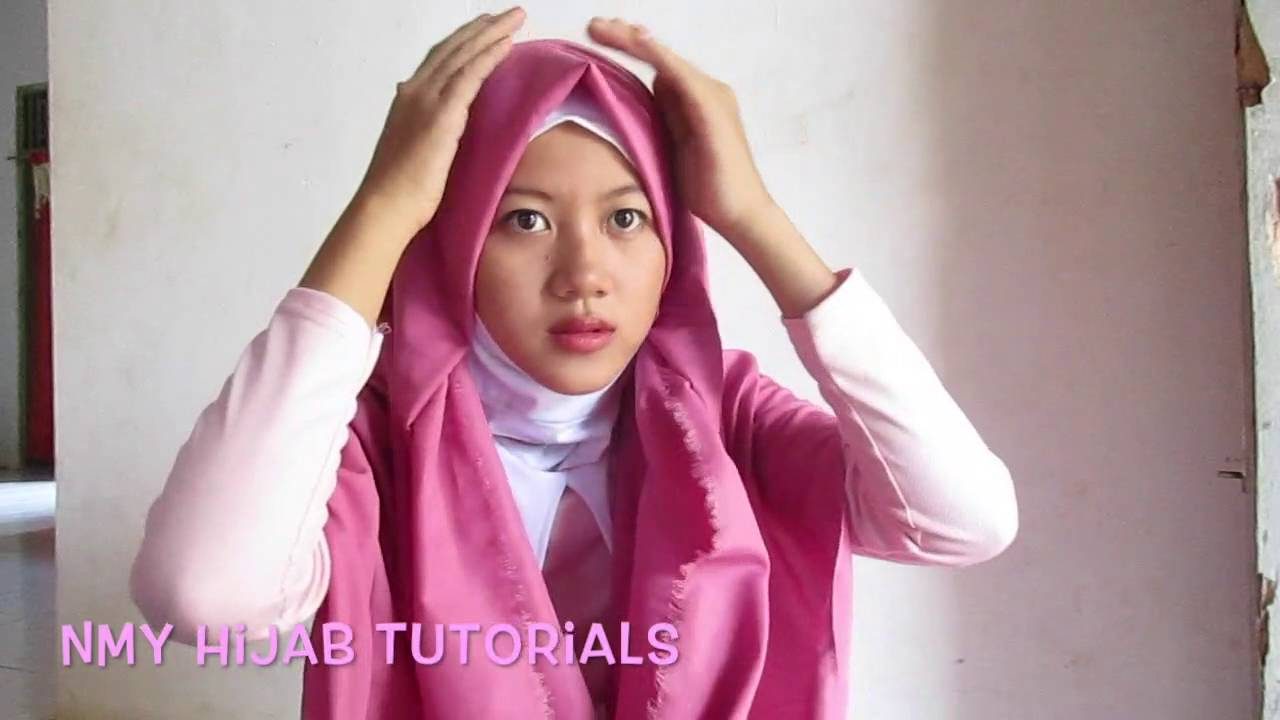 Tutorial Hijab Pashmina Sederhana Buat Main Dan Pesta By NMY