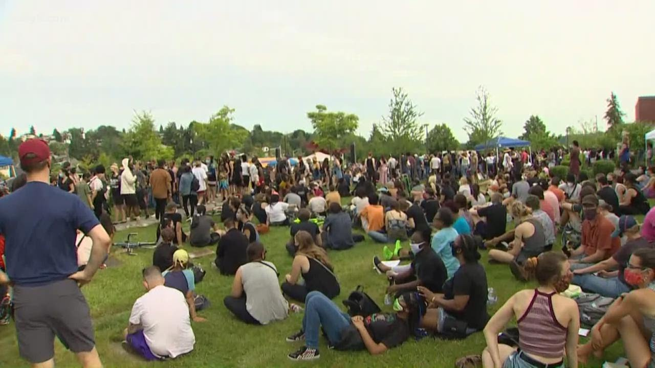 Thousands celebrate Juneteenth across Puget Sound with march and rally for justice
