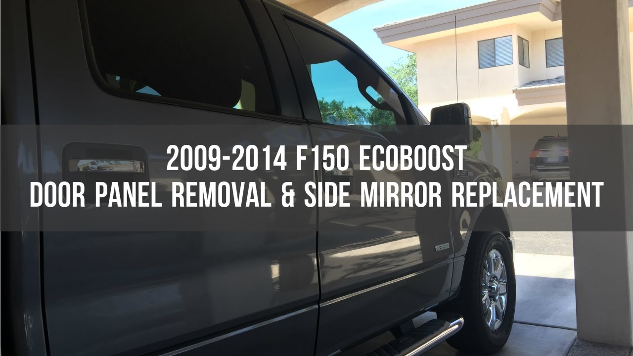 Ford F150 Door Panel Removal Side Mirror Replacement 2009 2014