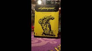 Cyberpunk 2077 CE statue unboxing