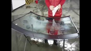 Замена лобового стекла Mercedes Benz W221 S500 4Matic в сервисном центре