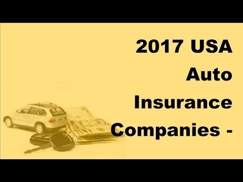2017 USAAuto Insurance Companies| Top 5 Auto Insurance Companies in the USA