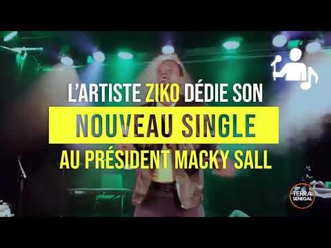 L`Artiste Ziko dédie son nouveau single au Président Macky Sall