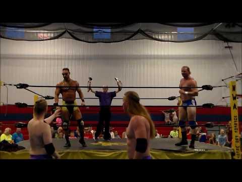Custom Made vs Rob Conway & Josh Lewis NWA Mid America Tag Title Match NWA Supreme 20th Anniversary