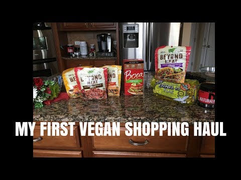 My First Vegan Shopping Trip - Vegan Life 3