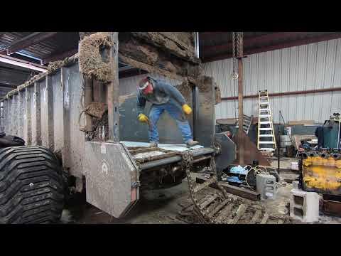 Artex Manure Spreader Floor Replacment PT 2