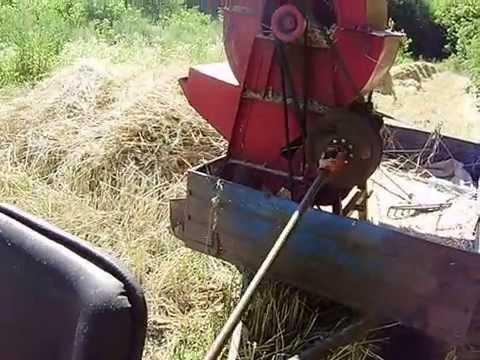 Колосковая молотилка для зерна своими руками