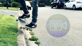 iPhone 5S: Slow Motion Test (120fps)
