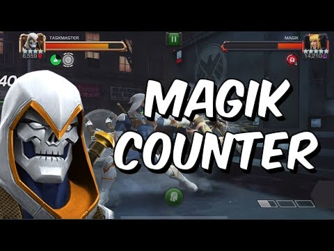 Taskmaster VS Act 5 Magik - Another Magik Counter - Marvel Contest Of Champions