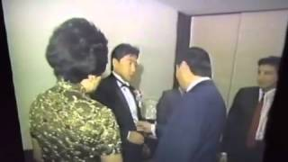 David Chang wedding day