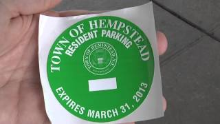 "Hempstead Town Announces ""Pilot"" Program for Resident Parking Permits at Bellmore Train Station"