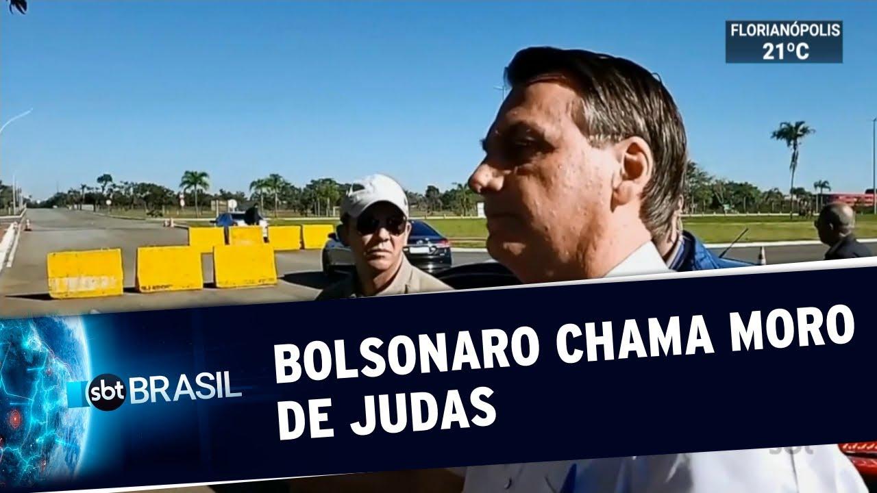 Bolsonaro chama ex-ministro Sergio Moro de