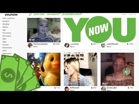 How To Make Money On YouNow - Broadcast And Get Paid To Chat