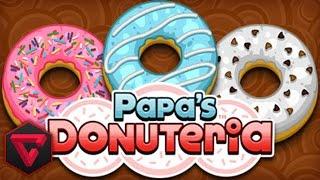 PAPA'S DONUTERIA: PLACER REDONDO Y AZUCARADO