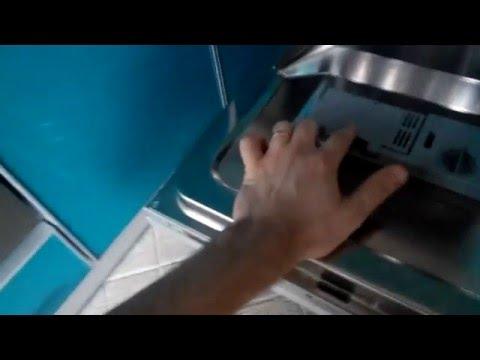 Ремонт лотка для моющего средства в посудомоечной машине HOTPOINT